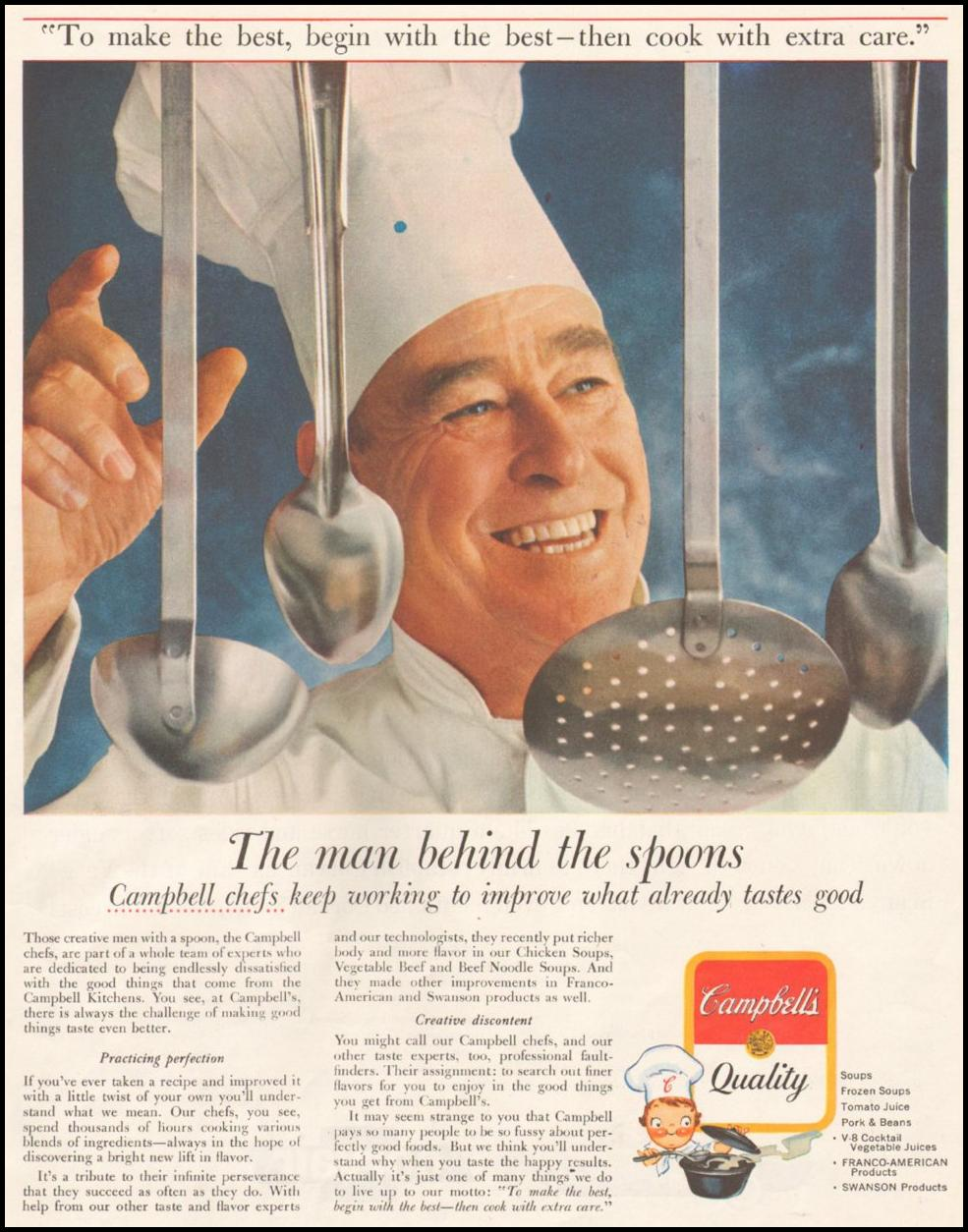 CAMPBELL'S SOUP SATURDAY EVENING POST 06/11/1960 p. 51