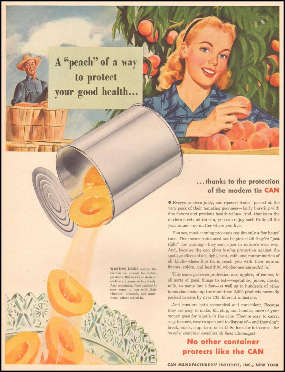 METAL CANS LIFE 03/12/1945
