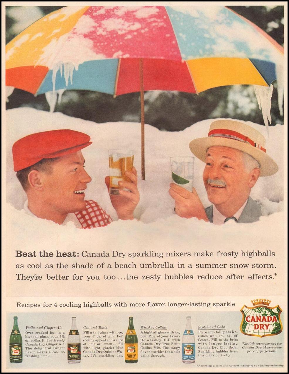 CANADA DRY SPARKLING MIXERS LIFE 06/24/1957 p. 13