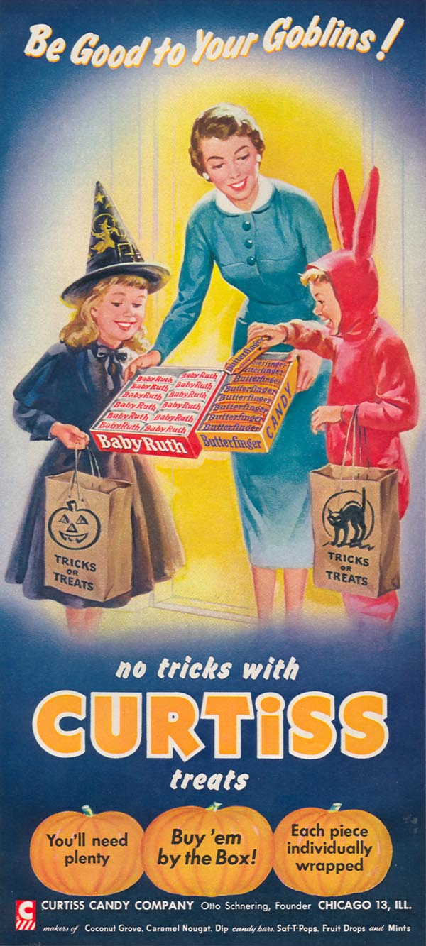 BABY RUTH CANDY BARS WOMAN'S DAY 10/01/1956 p. 84