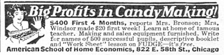 CANDY MAKING GOOD HOUSEKEEPING 12/01/1933 p. 164