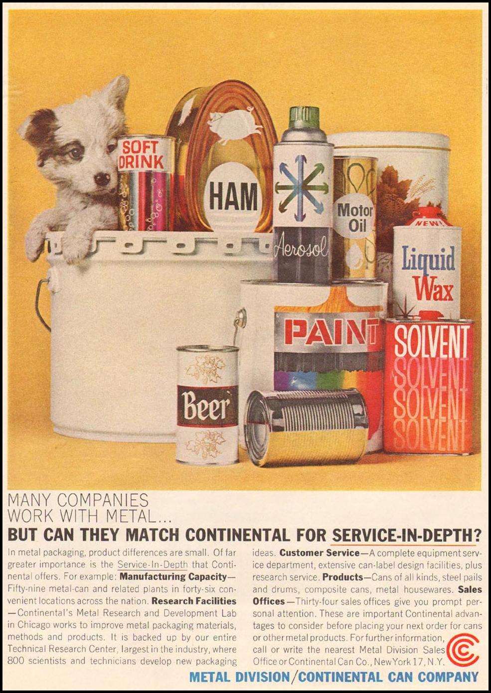 METAL CANS TIME 10/04/1963 p. 23