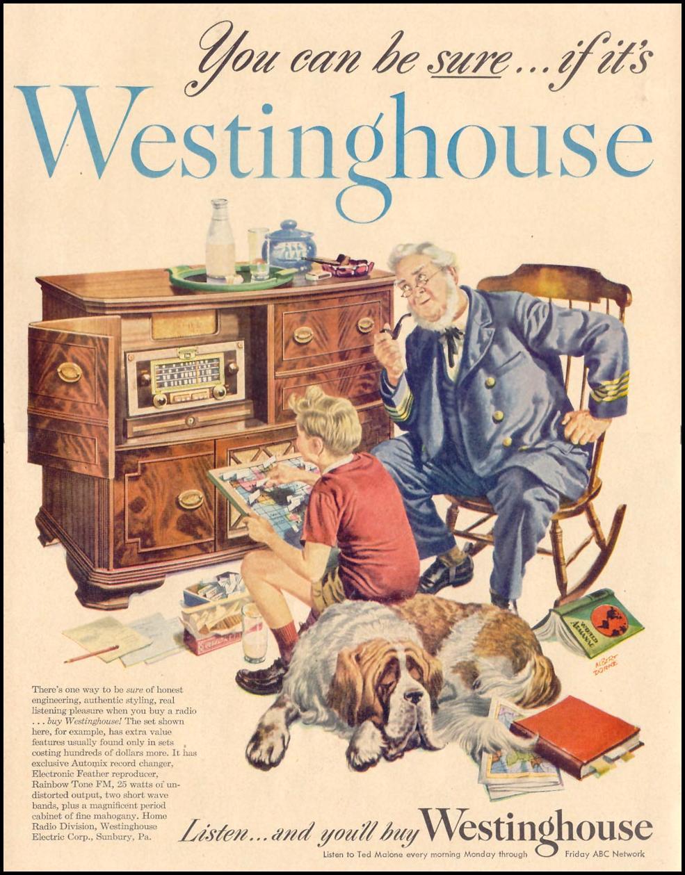 WESTINGHOUSE RADIOS LIFE 11/15/1948