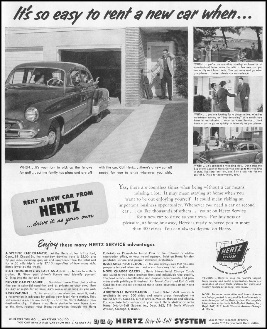 CAR RENTAL LIFE 06/16/1952 p. 47