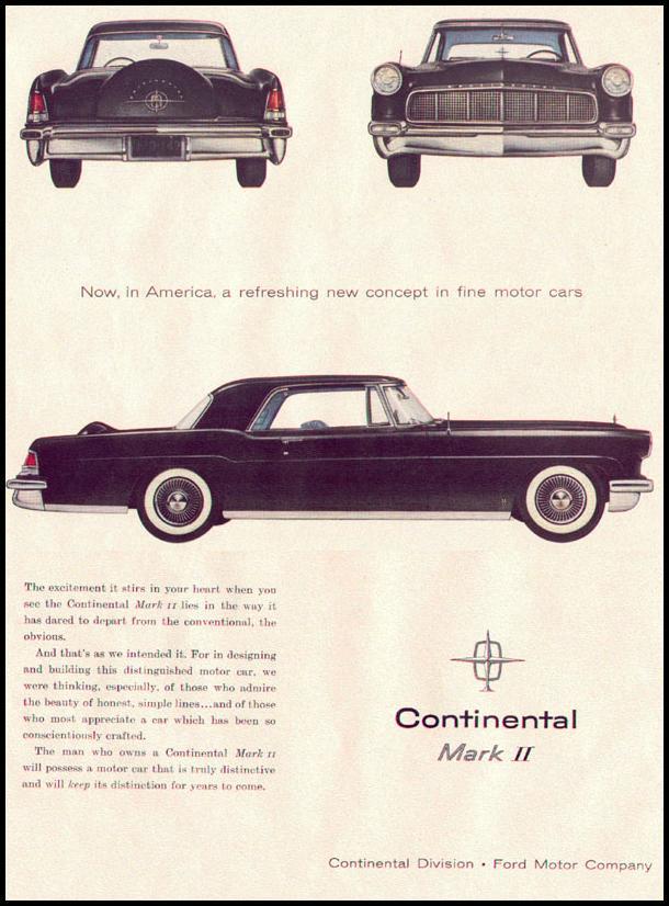 LINCOLN AUTOMOBILES LIFE 11/14/1955 p. 84