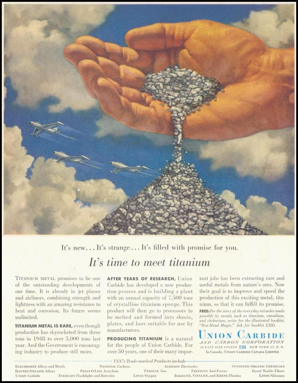 TITANIUM SATURDAY EVENING POST 06/04/1955