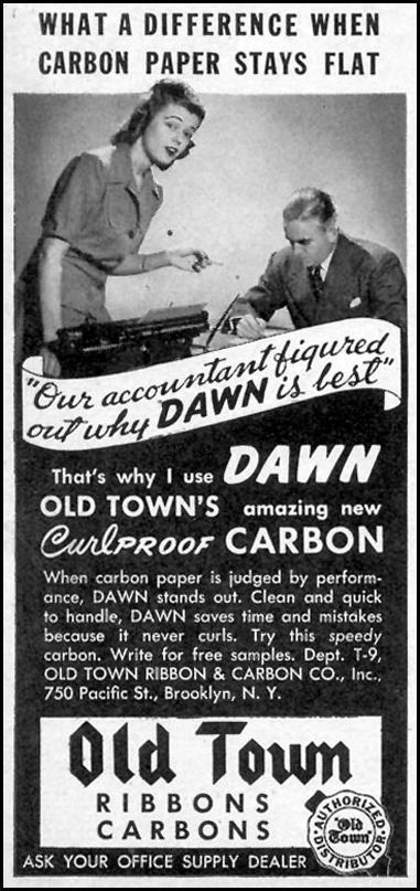 DAWN CURL PROOF CARBON PAPER TIME 08/17/1942 p. 78