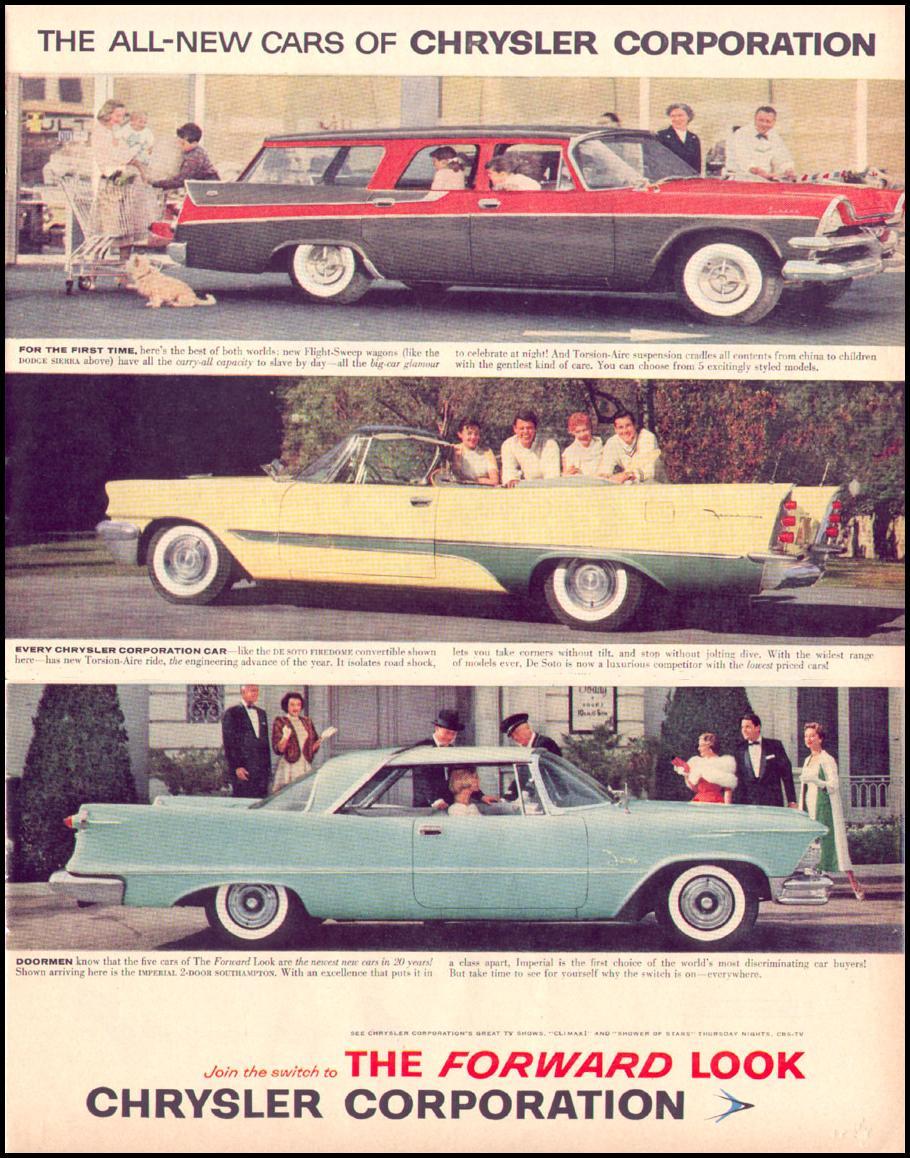 DE SOTO AUTOMOBILES LIFE 04/08/1957 p. 55