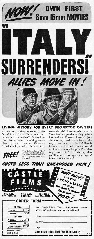 COMBAT MOVIES LIFE 10/11/1943 p. 8