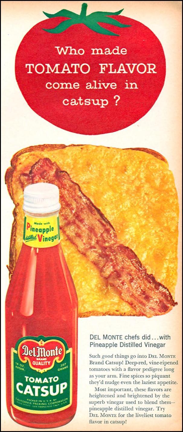 DEL MONTE TOMATO CATSUP FAMILY CIRCLE 02/01/1958 p. 13