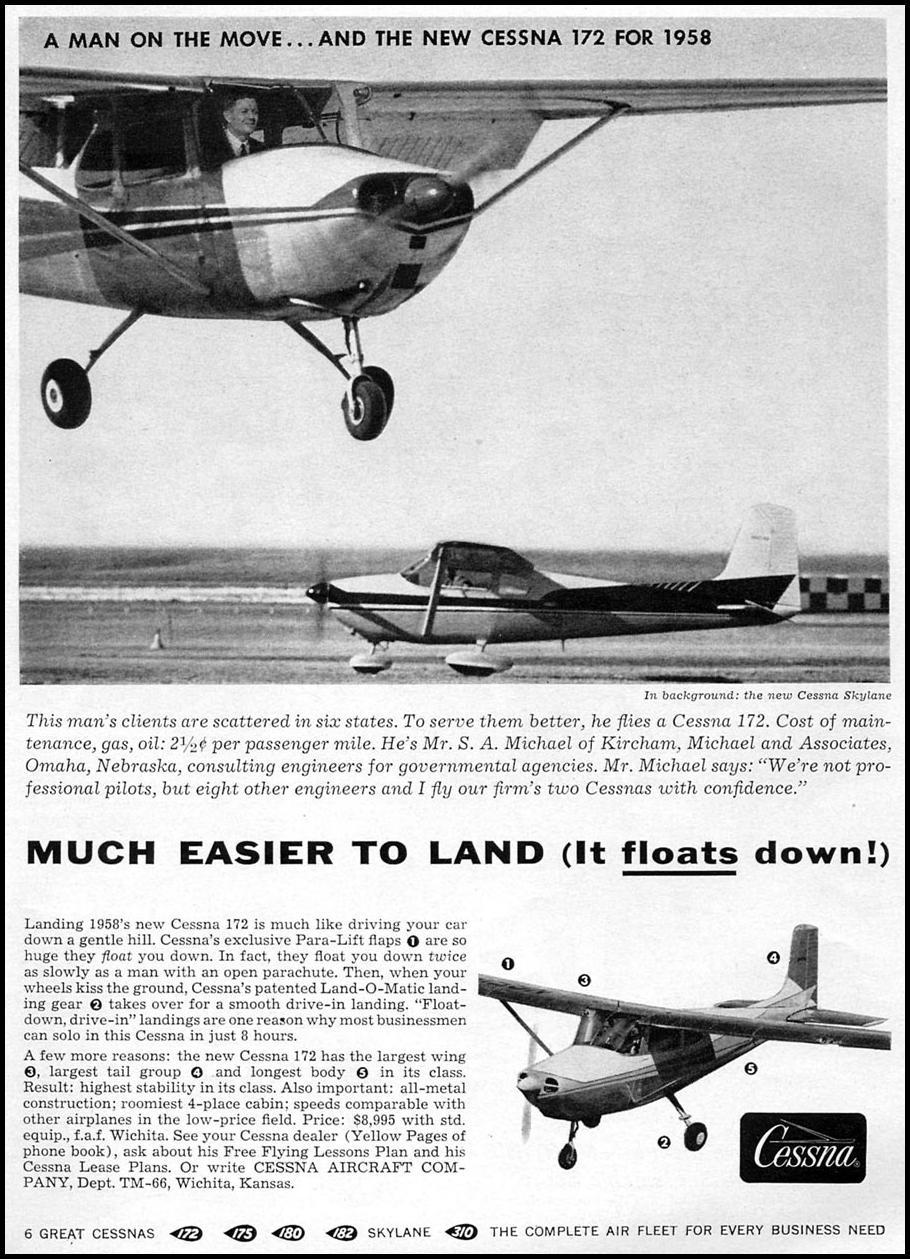 CESSNA AIRCRAFT TIME 05/05/1958 p. 35