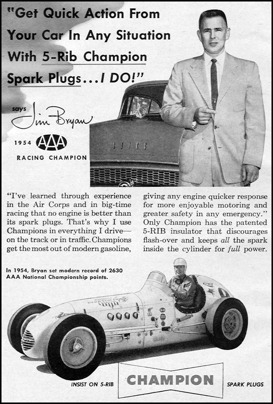 CHAMPION SPARK PLUGS CORONET 08/01/1955 p. 4