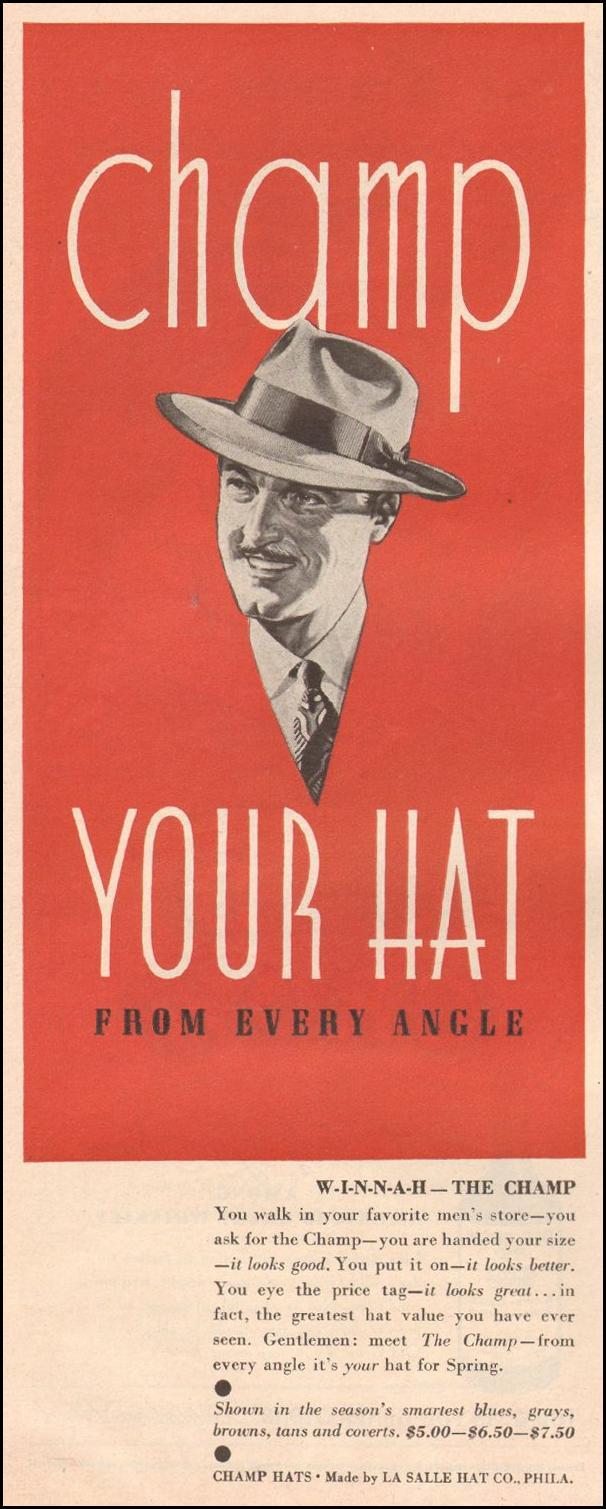 THE CHAMP HAT LIFE 03/12/1945 p. 122