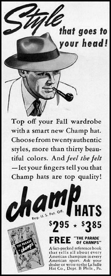 THE CHAMP HAT LIFE 09/29/1941 p. 22