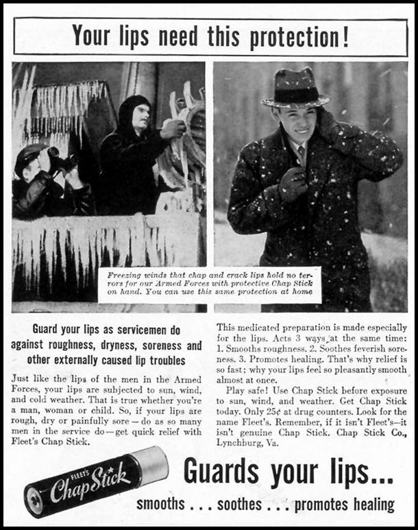 FLEET'S CHAP-STICK LIFE 02/28/1944 p. 112