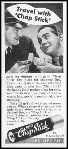 CHAP STICK LIP BALM LIFE 10/11/1948 p. 92