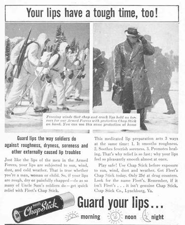 FLEET'S CHAP STICK LIFE 02/14/1944 p. 66