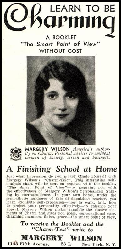 THE SMART POINT OF VIEW BY MARGERY WILSON GOOD HOUSEKEEPING 11/01/1933 p. 199