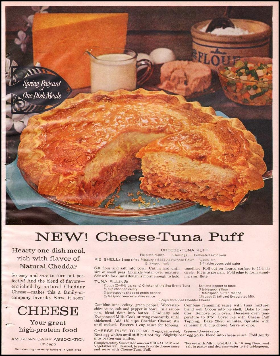 CHEESE BETTER HOMES AND GARDENS 03/01/1960 p. 111