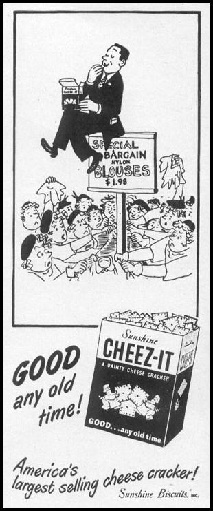CHEEZ-IT CRACKERS LIFE 06/16/1952 p. 10