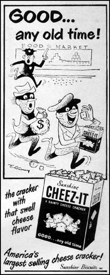 CHEEZ-IT CRACKERS LIFE 10/01/1951 p. 116