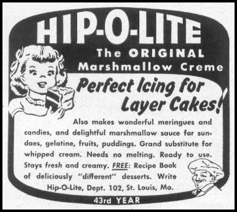 MARSHAMALLOW CREME WOMAN'S DAY 12/01/1948 p. 118
