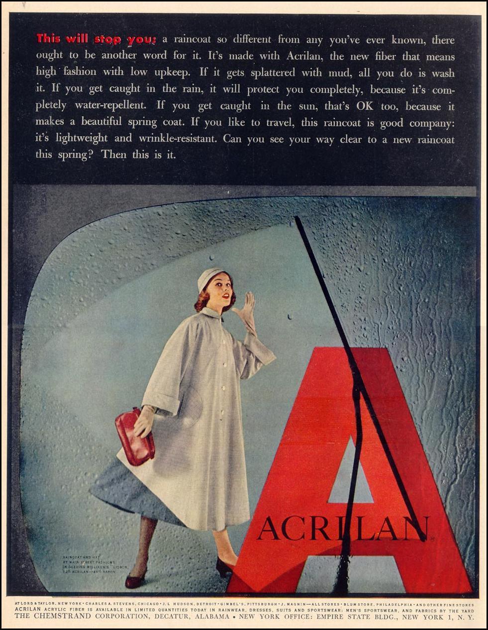 ACRILAN ACRYLIC FIBER LIFE 04/13/1953 p. 118