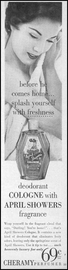 APRIL SHOWERS COLOGNE PHOTOPLAY 08/01/1956 p. 99