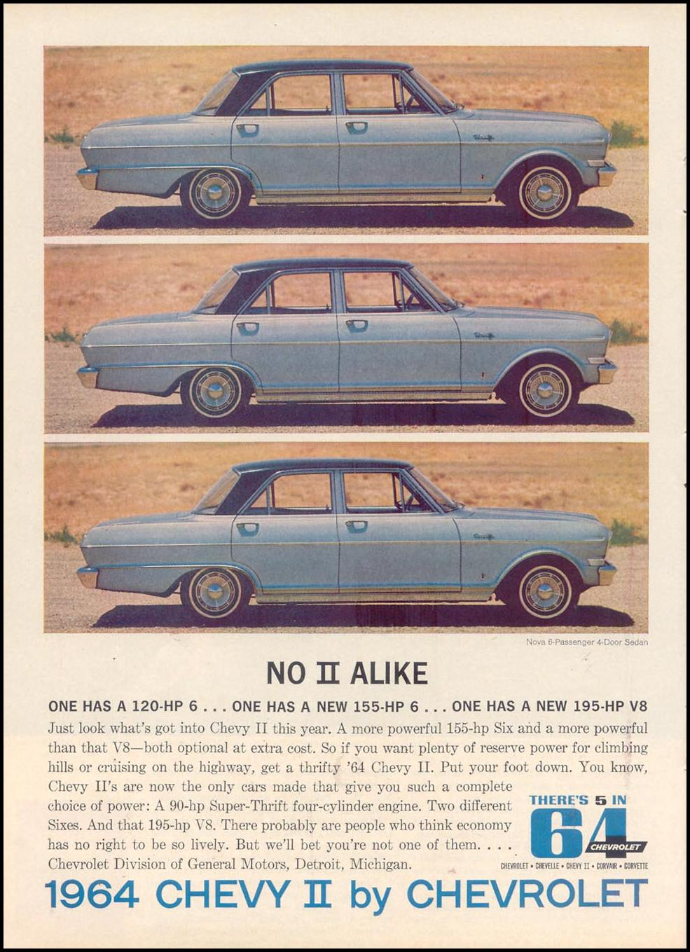 CHEVROLET AUTOMOBILES TIME 12/06/1963 p. 80