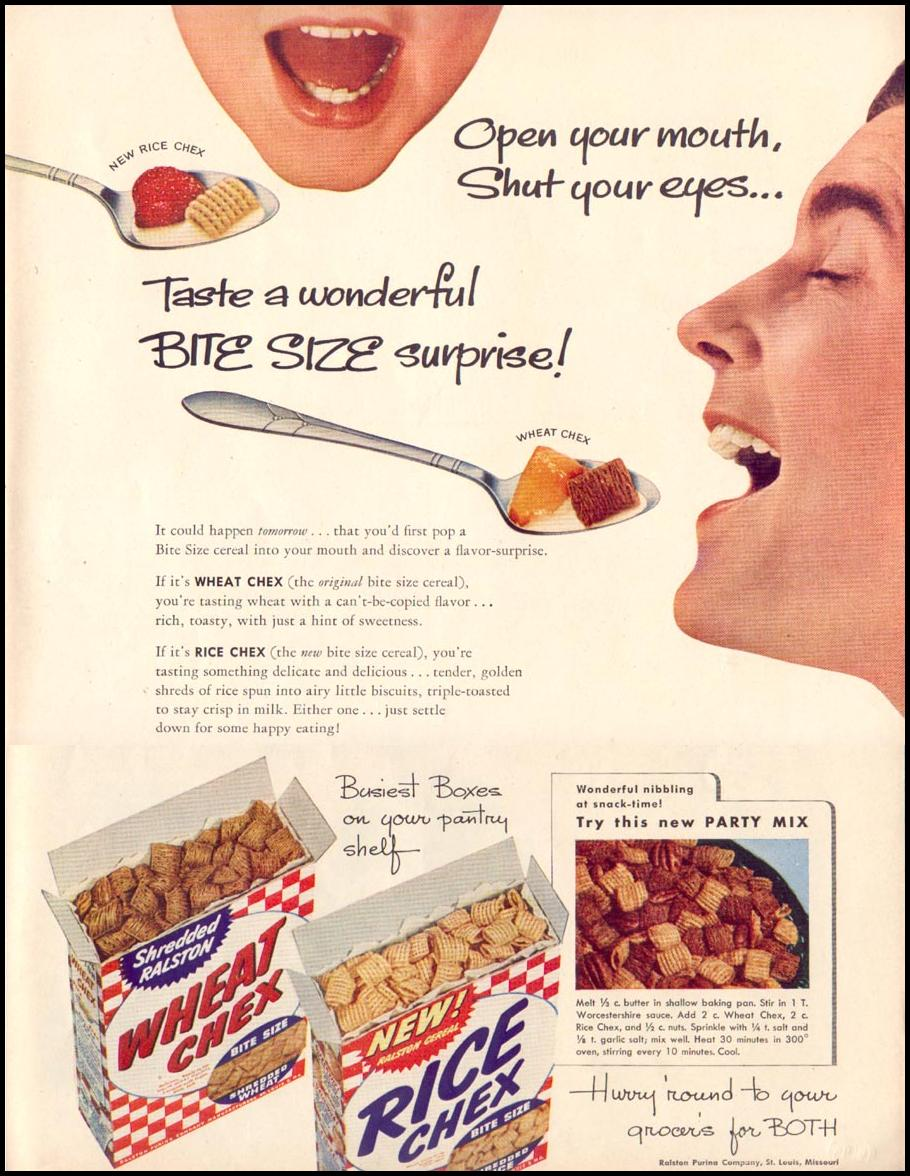 CHEX CEREAL LIFE 06/16/1952 p. 95