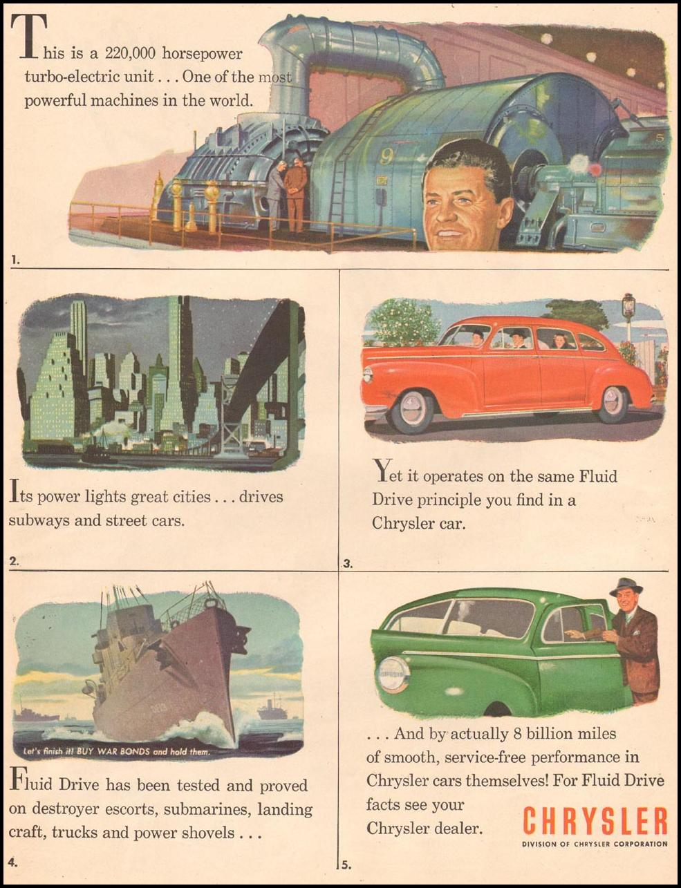 CHRYSLER AUTOMOBILES LIFE 06/04/1945 p. 17