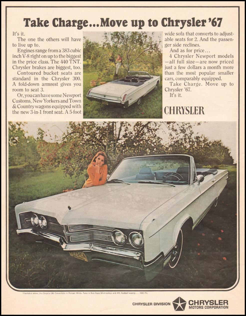 CHRYSLER AUTOMOBILES LIFE 11/04/1966 p. 22
