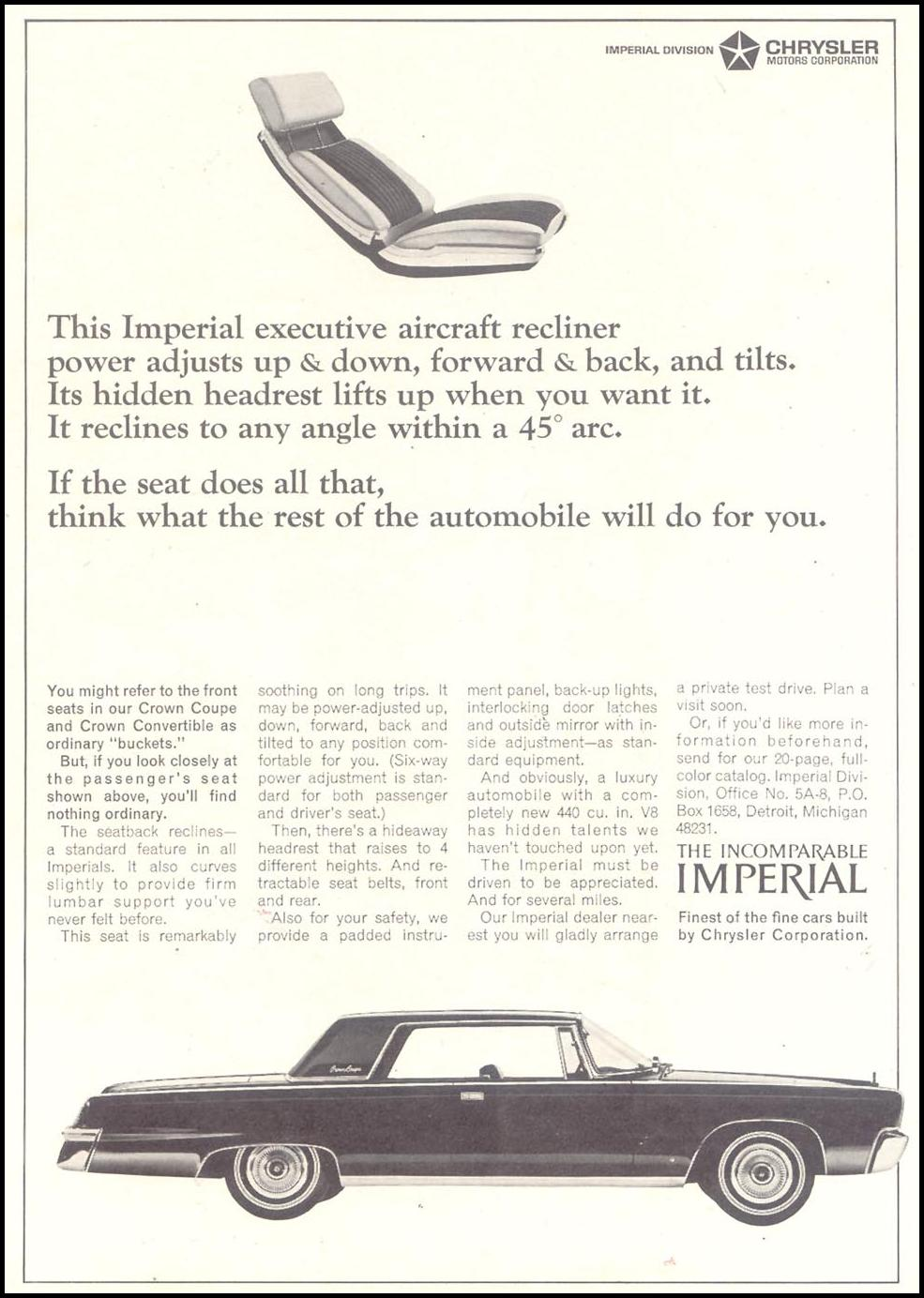 CHRYSLER AUTOMOBILES TIME 03/11/1966 p. 77