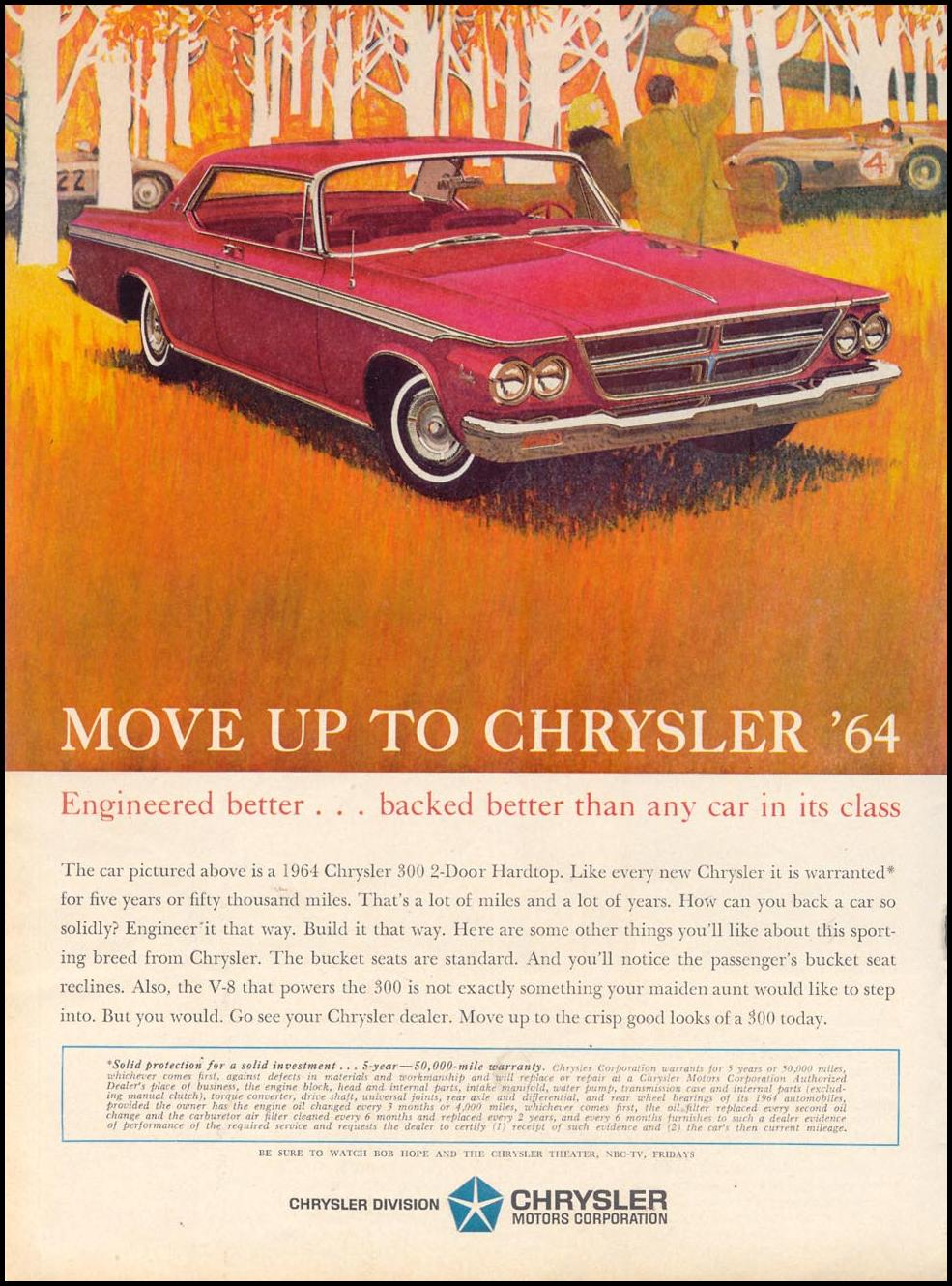CHRYSLER AUTOMOBILES TIME 10/25/1963 p. 46