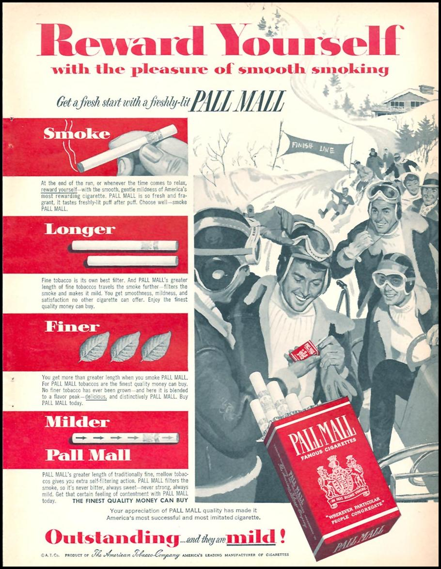 PALL MALL CIGARETTES FAMILY CIRCLE 01/01/1956 p. 5