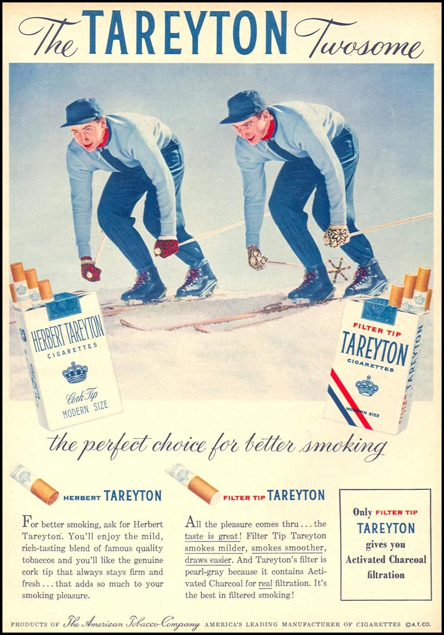 TAREYTON CIGARETTES FAMILY CIRCLE 02/01/1956 p. 67