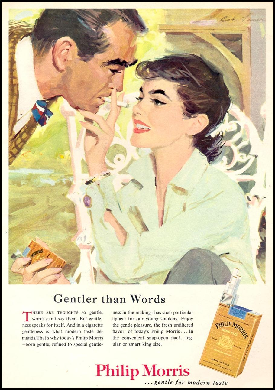 PHILIP MORRIS CIGARETTES WOMAN'S DAY 09/01/1955 p. 81