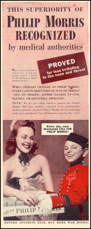 PHILIP MORRIS CIGARETTES LIFE 02/21/1944 p. 60