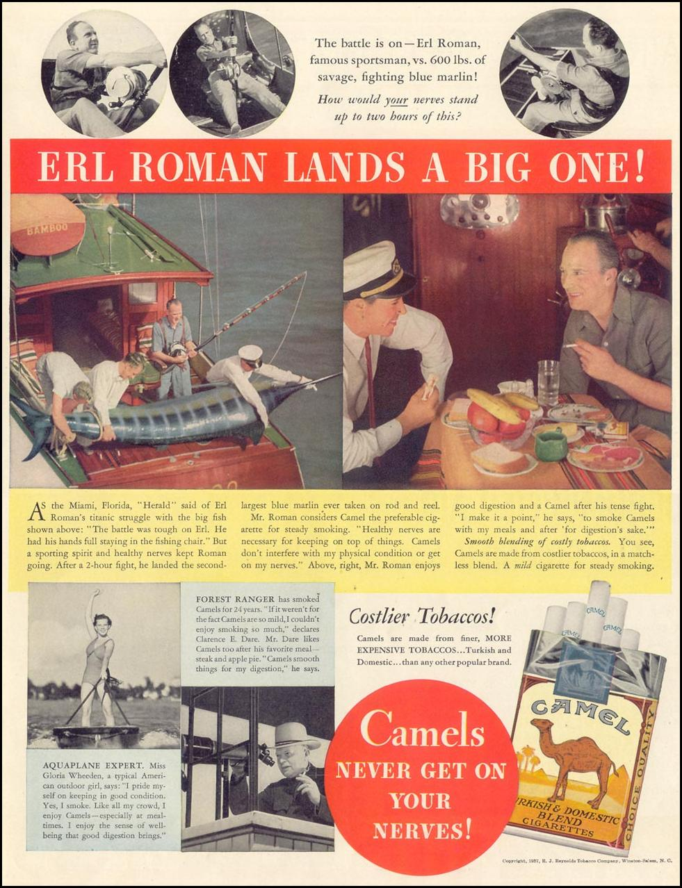 CAMEL CIGARETTES LIFE 08/02/1937 p. 43