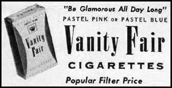 VANITY FAIR CIGARETTES LIFE 09/15/1958 p. 15