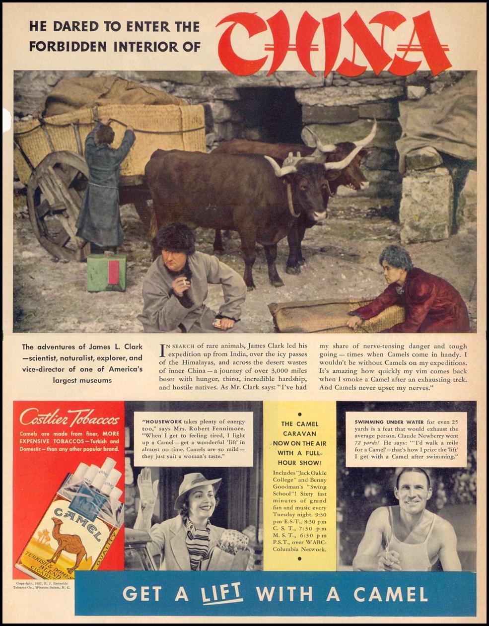 CAMEL CIGARETTES LIFE 09/27/1937