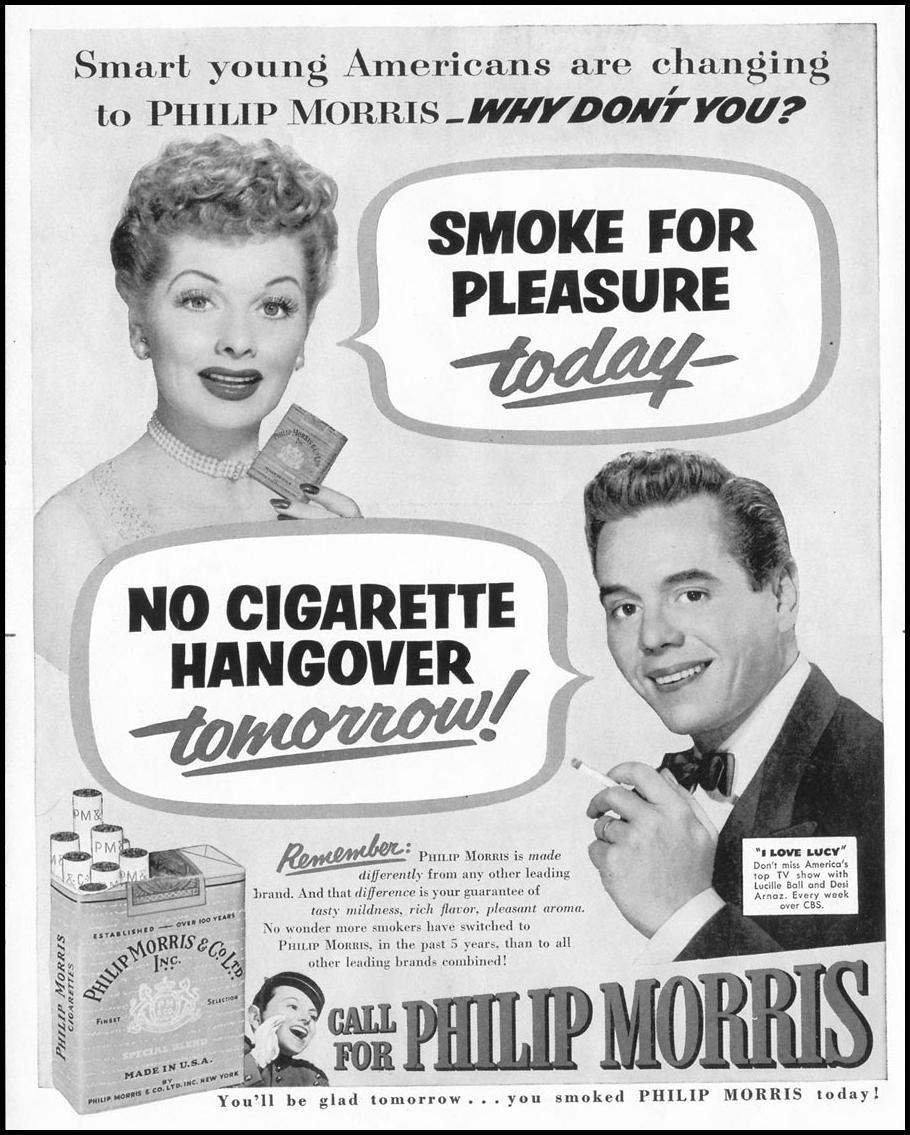 PHILIP MORRIS CIGARETTES LIFE 10/13/1952 p. 148