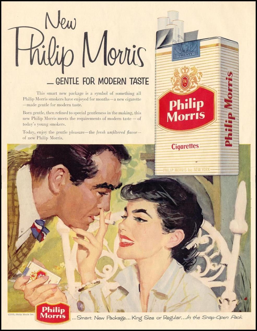 PHILIP MORRIS CIGARETTES LIFE 11/14/1955 p. 132