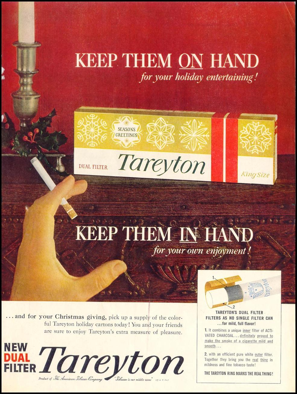 TAREYTON CIGARETTES LIFE 12/14/1959 p. 67