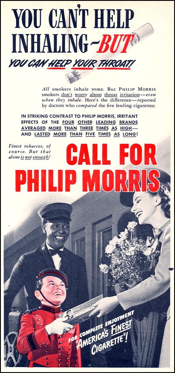 PHILIP MORRIS CIGARETTES TIME 01/12/1942 p. 75