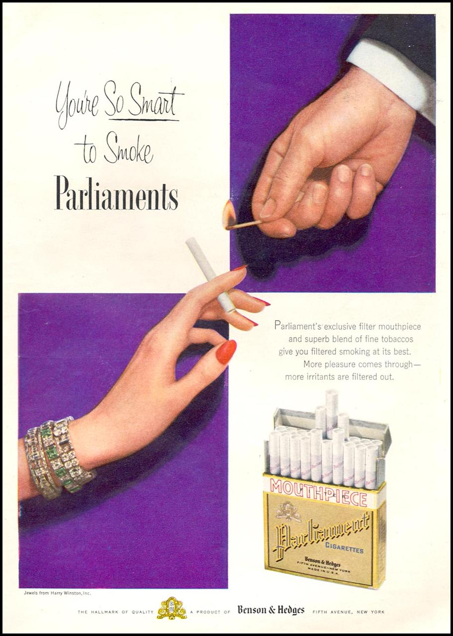 PARLIAMENT CIGARETTES TIME 06/08/1953 p. 19