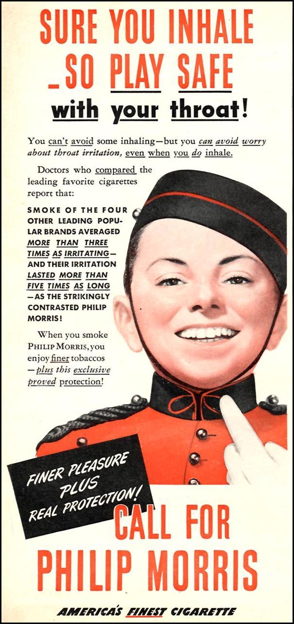 PHILIP MORRIS CIGARETTES TIME 08/17/1942 p. 2