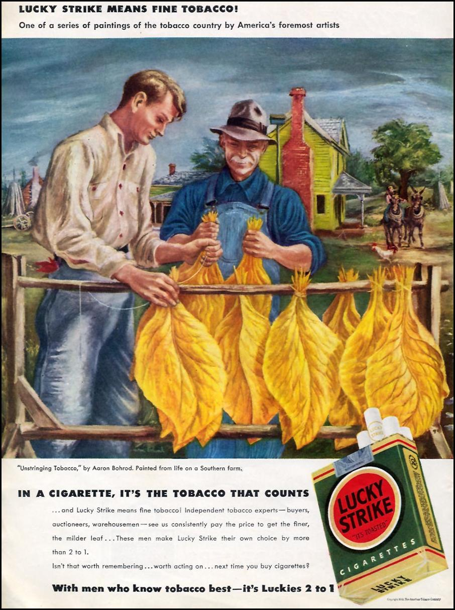 LUCKY STRIKE CIGARETTES TIME 08/17/1942 p. 30