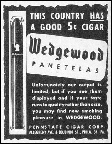 WEDGEWOOD PANETELAS LIFE 02/28/1944 p. 22