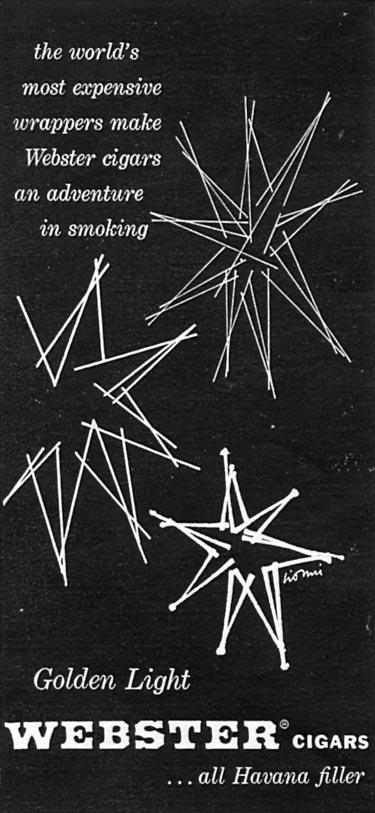 WEBSTER CIGARS TIME 05/05/1958 p. 68